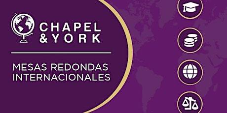 SP: Chapel & York Live: Adquisición Digital de donantes entradas