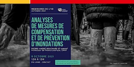 Analyse des mesures de compensation et de prévention d'innondations tickets