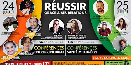 REUSSIR GRÂCE À SES RELATIONS billets