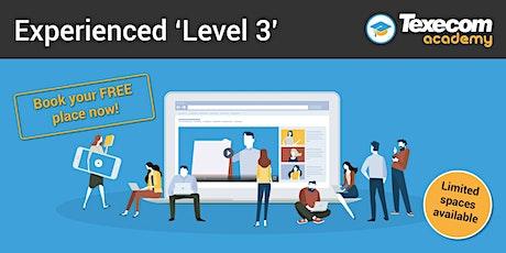 Level 3 -  Online workshop for time served professionals tickets