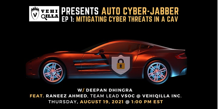Auto Cyber Jabber EP1: Mitigating Cyber Threats in a CAV image