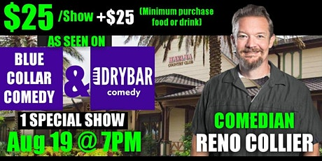 RENO COLLIER LIVE IN THE VILLAGES! tickets
