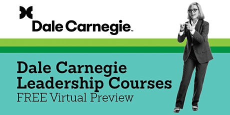 Dale Carnegie Leadership Courses – Free Preview tickets