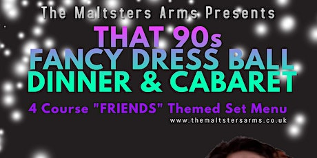 The 1 where U dressed up for a 90s Themed Dinner Party with Amy Winehouse tickets