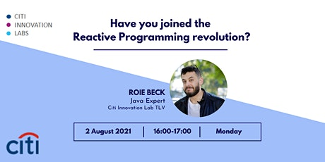 Have you joined the  Reactive Programming revolution? Tickets