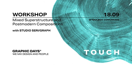 Graphic Days® Touch | Workshop with Studio Seri/graph tickets