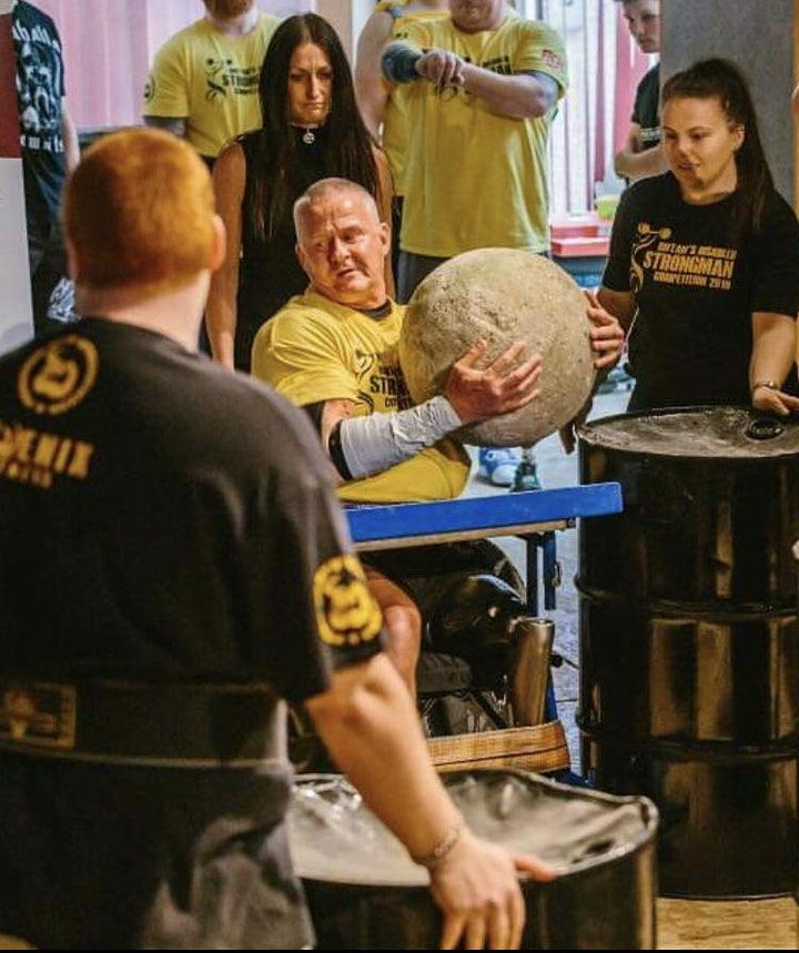 Britains Disabled Strongman Competition 2021 image