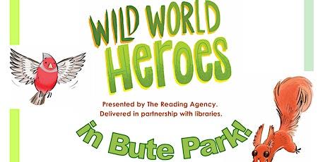 Summer Reading Challenge 2021: Wild World Heroes in Bute Park tickets
