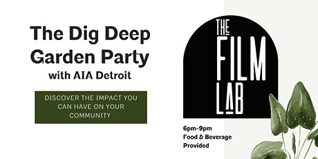 The Dig Deep Garden Party tickets