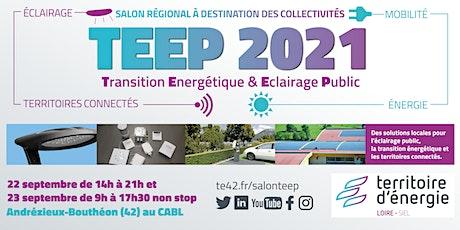 Salon TEEP 2021 · Transition énergétique & Éclairage public billets
