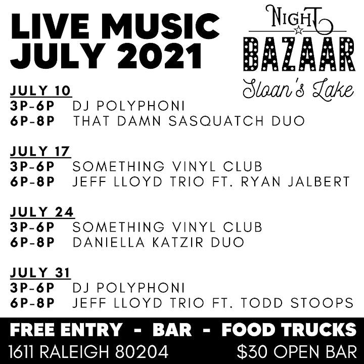 Saturday Night BAZAAR: Shop & Sip image
