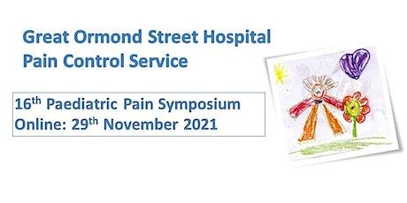 16th Paediatric Pain Symposium tickets