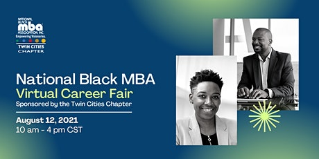 National Black MBA Twin Cities Chapter Virtual Career Fair tickets