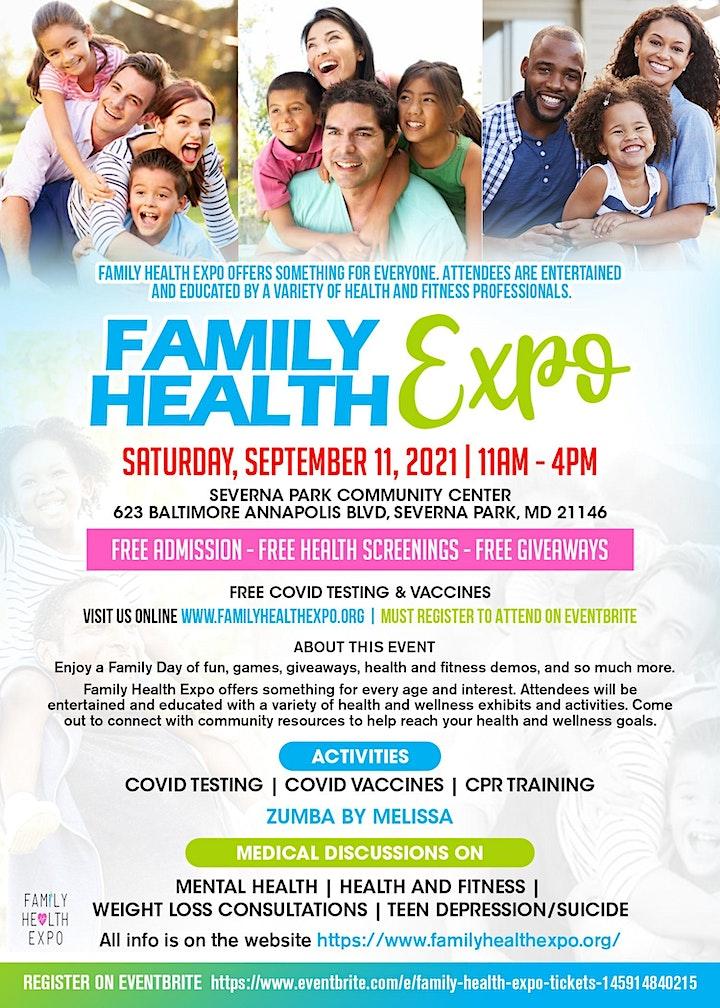FAMILY HEALTH EXPO image