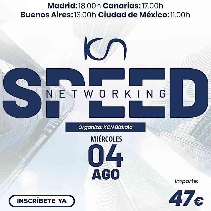 Imagen de KCN Bizkaia Speed Networking Online 4 Ago