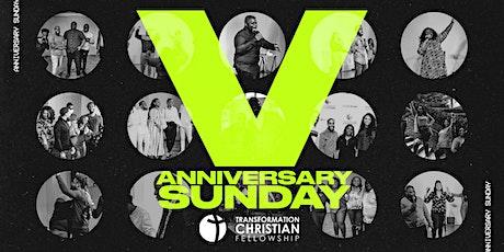 Anniversary Sunday @ Transformation Christian Fellowship tickets