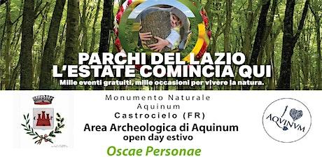 Oscae Personae  - rappresentazione teatrale biglietti