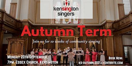 Kensington Singers - Autumn Term tickets