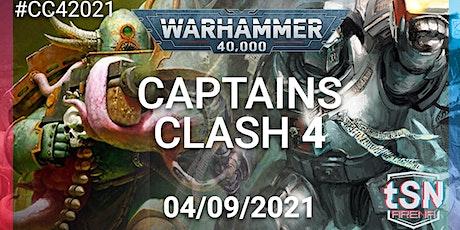 Captains Clash 4 - 40k 16 man singles event tickets