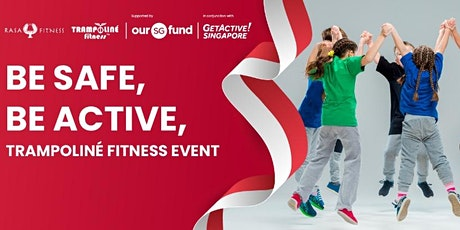 Be Safe, Be Active, Trampoliné Fitness Event -  Zumba Kids tickets