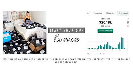 START YOUR OWN BUSINESS KICK-STARTER WORKSHOP tickets