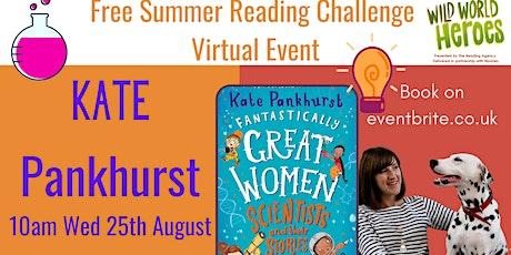 Virtual Kate Pankhurst Summer Reading Challenge Event tickets