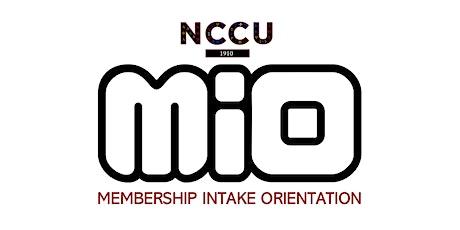 NCCU: Virtual Membership Intake Orientation #4 (Fall 2021) tickets