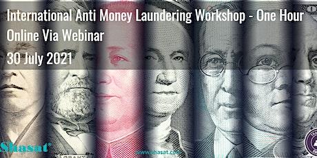 International Anti Money Laundering Program (1 Hour) - Online tickets