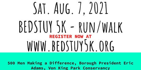 7th Annual Bed Stuy 5K Run/Walk For Peace tickets