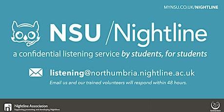 NSU Nightline Listening Training (August - ONLINE) tickets