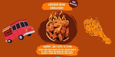 3DB Chicken Wing Challenge tickets