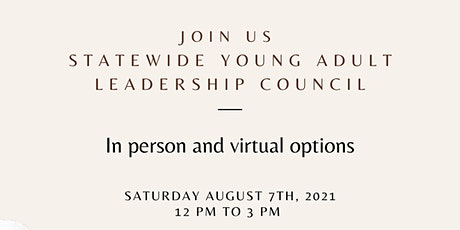 Statewide Young Adult Leadership Council billets