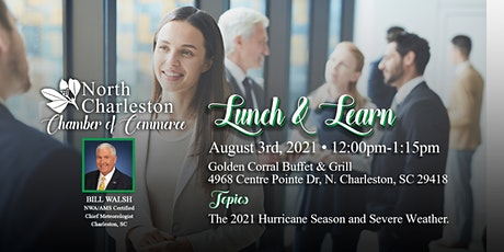 North Charleston Chamber of Commerce August 2021 Lunch & Learn tickets