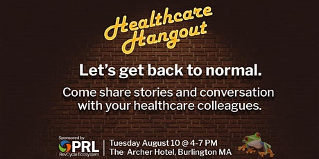 Healthcare Hangout - Sponsored by PRL tickets