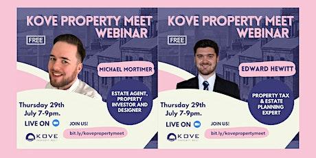 KOVE Property Meet - July Webinar tickets