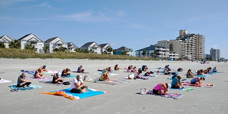 BEACH YOGA, THURS., August 5th  at 8:00 am - EVERYONE IS WELCOME! tickets