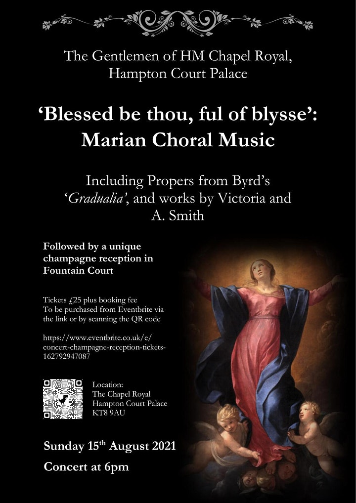 'Blessed be thou, ful of blysse' Concert  & Champagne Reception image