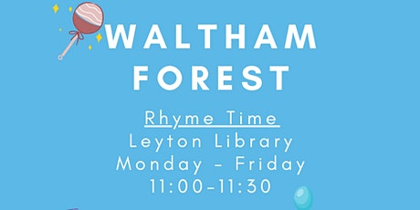 Waltham Forest Rhyme Time tickets