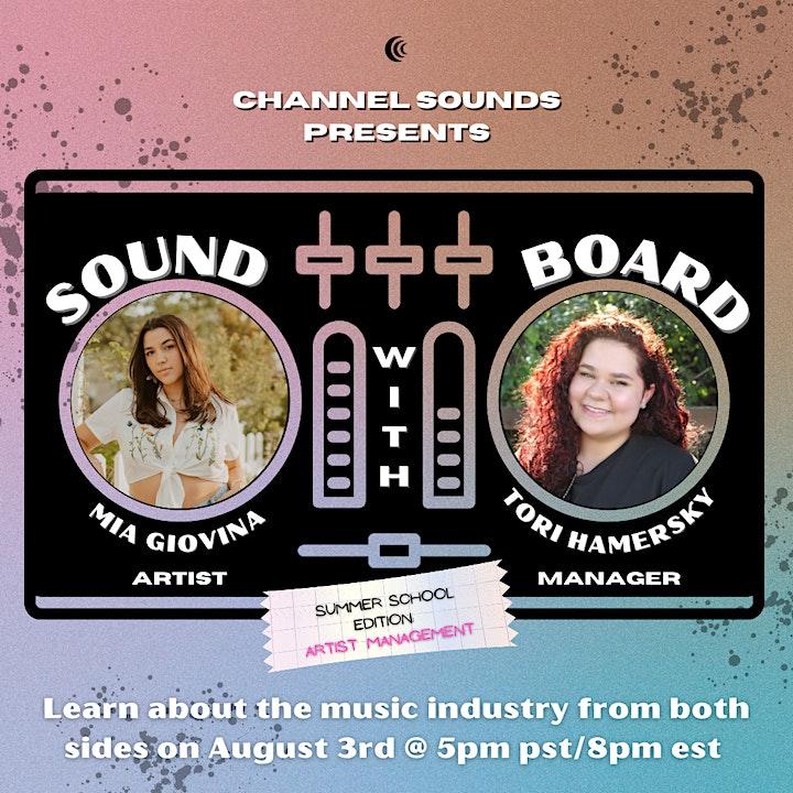 Channel Sounds Presents: Soundboard [Summer School Edition] image