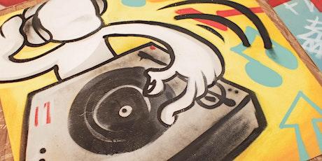 Graffiti  Art & Cookies! - Summer Activity - Age 7+ tickets