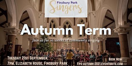 Finsbury Park Singers - Autumn Term tickets