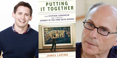 VIRTUAL - James Lapine | Putting It Together: How Stephen Sondheim and I... tickets
