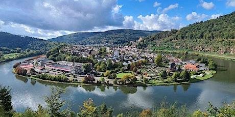 So,15.08.21 Wanderdate Schloss Hirschhorn und Neckarschleife für 50+ Tickets