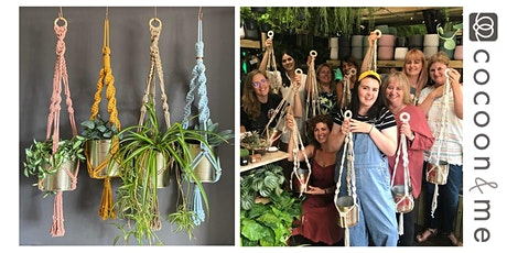 Macramé Plant Hangers Workshop  - Chichester tickets