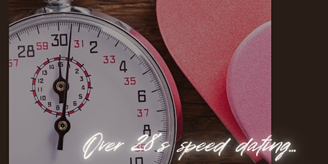 Over 28's speed dating tickets