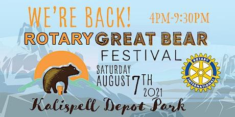 Great Bear Festival 2021 tickets