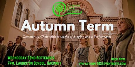 Victoria Park Singers - Autumn Term tickets