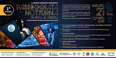 Passeggiata notturna in riva al Brenta con degustazione tickets