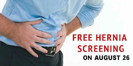 Free Hernia Screening tickets