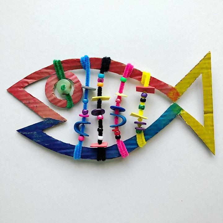 Summer Art Club at Kiln Workshop: Sculptures & Snipping image